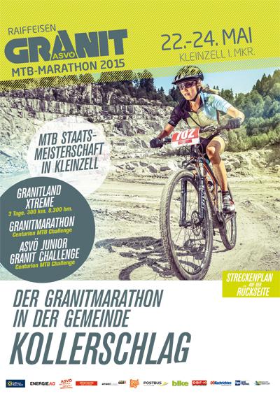 Der Granitmarathon in der Gemeinde Kollerschlag am 22. Mai von 10:30 bis 13:15 Uhr
