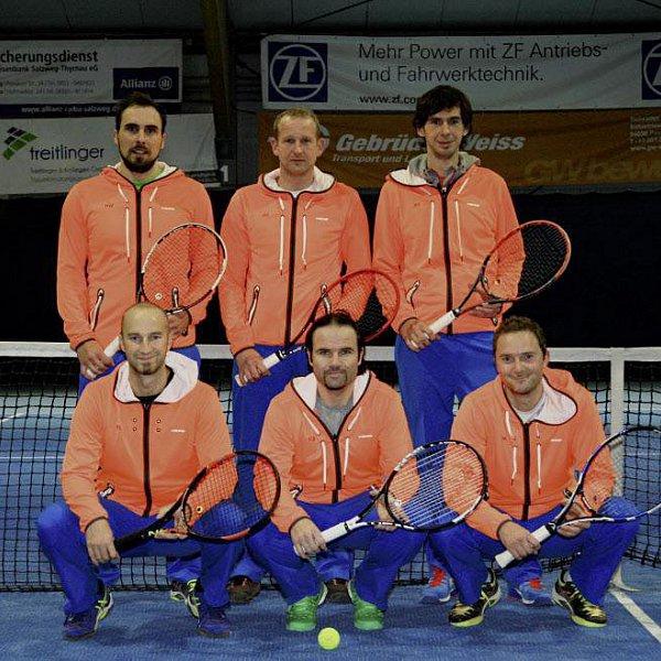 Kollerschlager im Duell mit Ex-ATP-Spielern