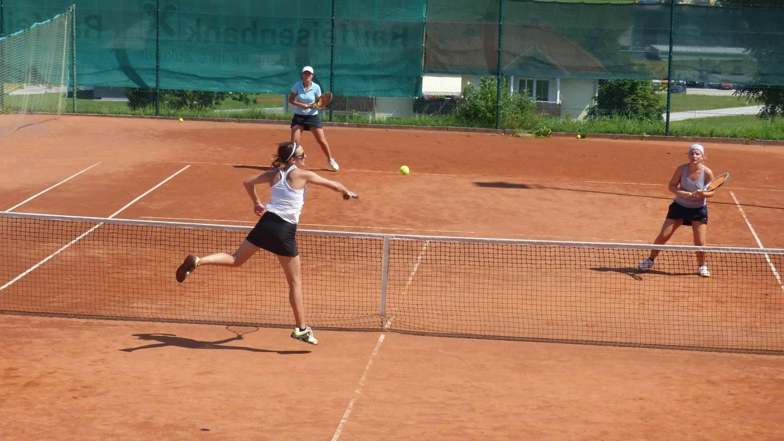 Tennis-Schleiferlturnier am Pfingstmontag, 16. Mai