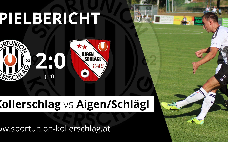 6-Punkte-Sonntag gegen Bezirksligaabsteiger Aigen-Schlägl