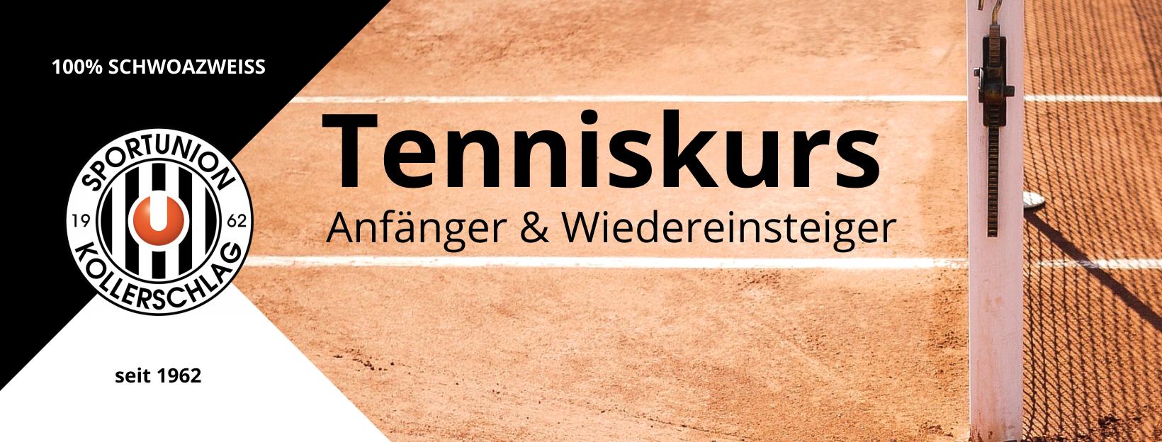 Winter Tenniskurs für Anfänger und Wiedereinsteiger