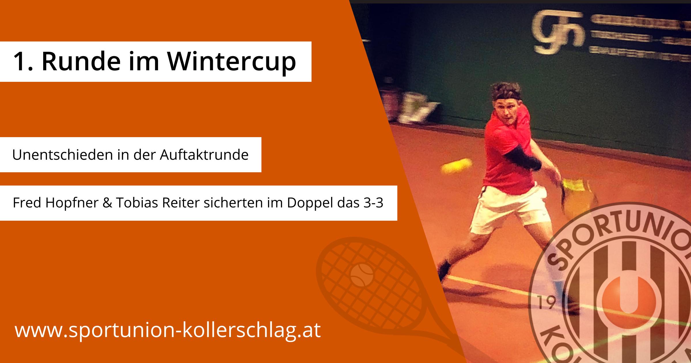 Auftaktrunde im Wintercup