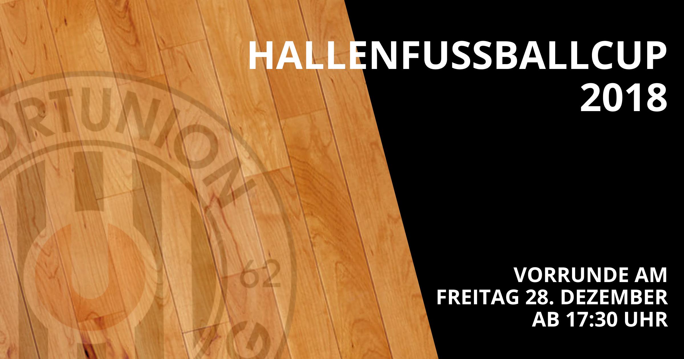 Hallenfußballcup 2018 am Freitag 28.12.