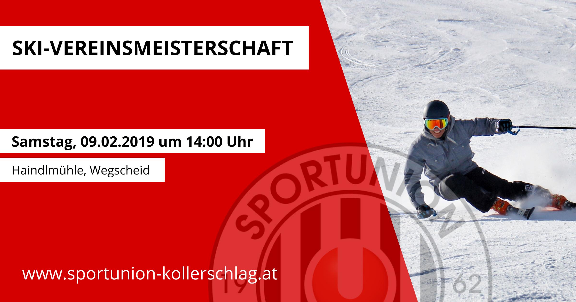 Ski-Vereinsmeisterschaft am 09. Februar 2019