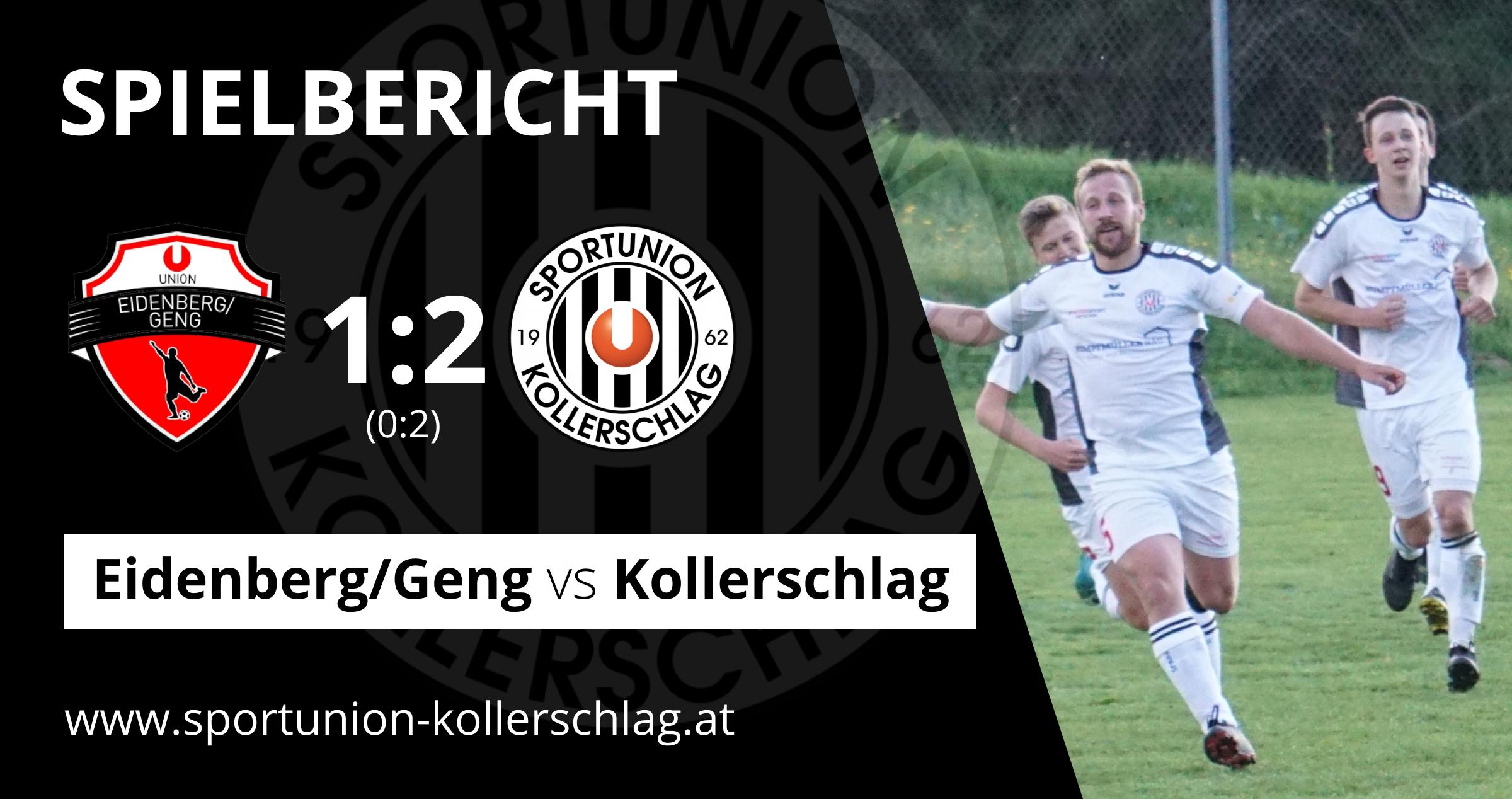 Friedl-Doppelpack! 2:1 Auswärtssieg in Eidenberg/Geng