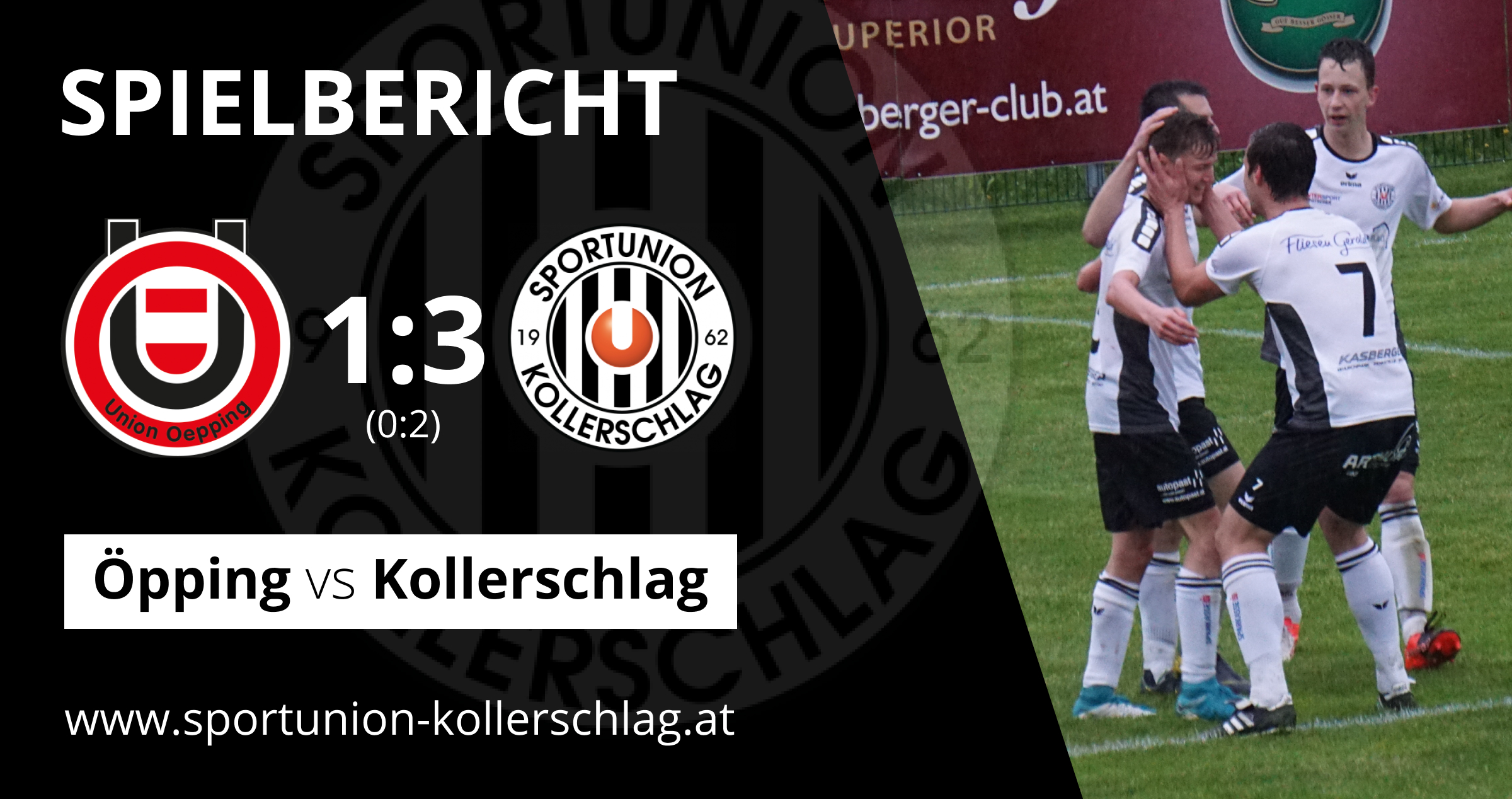 5. Streich in Folge! 3:1 Sieg in Öpping