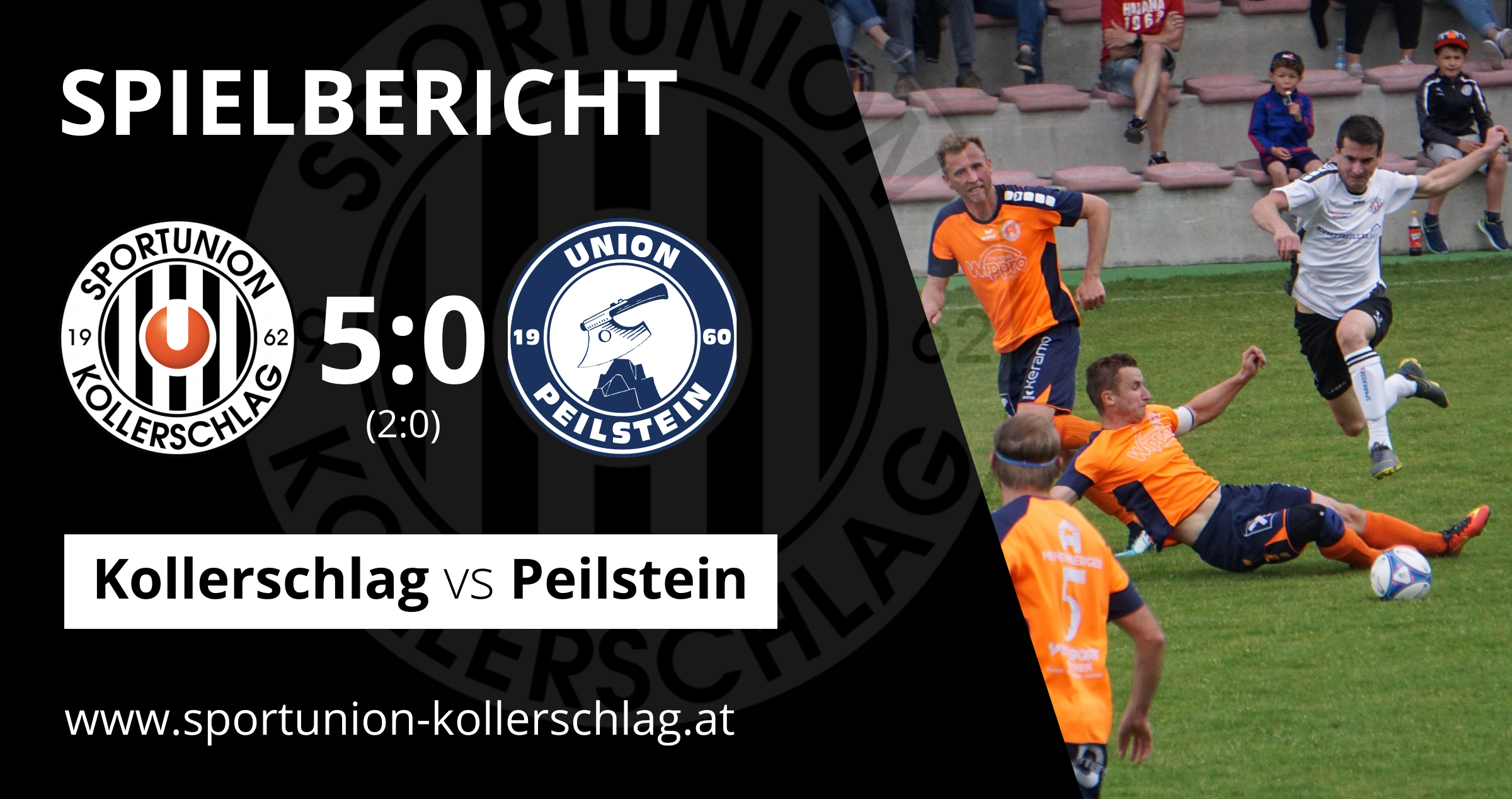 Die Siegesserie geht weiter! 5:0 Derby-Heimsieg gegen Peilstein