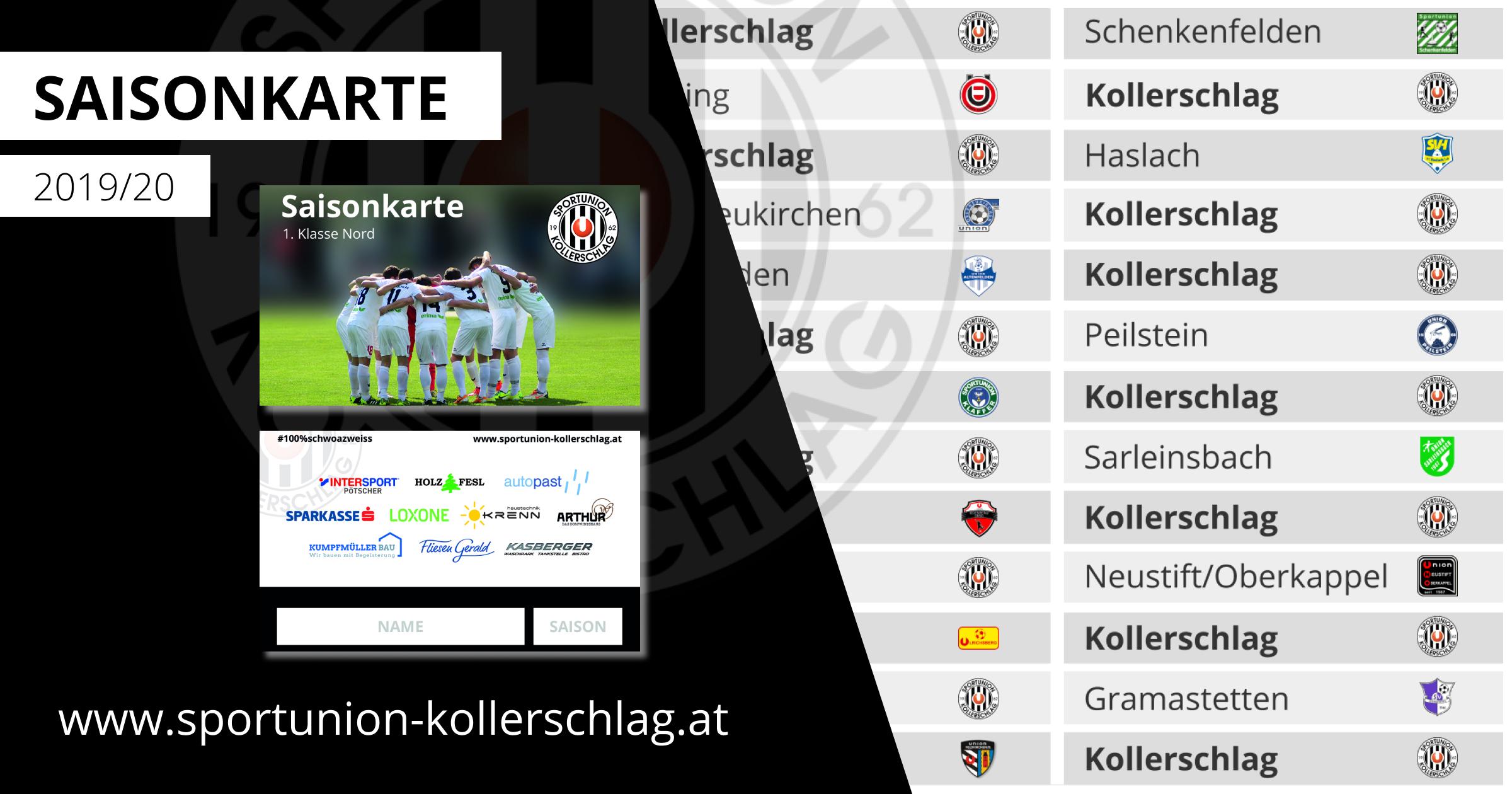 Die Saisonkarte für die Fußballsaion 2019/20 ist ab sofort erhältlich