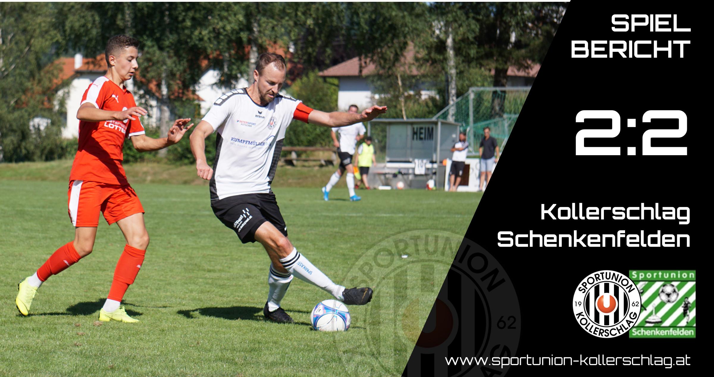 2:2 Unentschieden im Auftaktmatch gegen Schenkenfelden