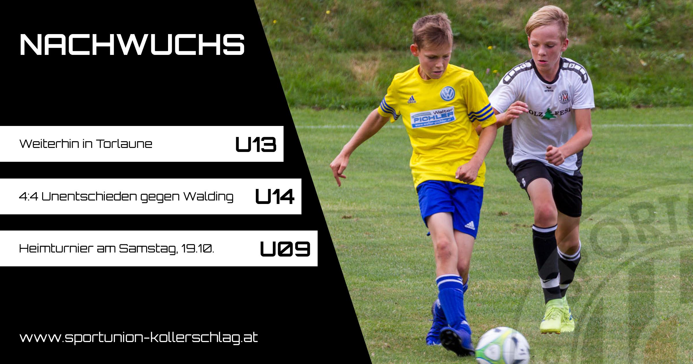 Die U16 ist zurück in der Spur – 3:0 gegen Ottensheim/Walding